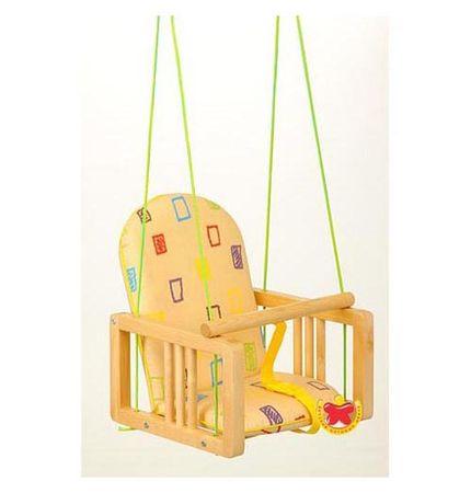 Деревянные качели для ребенка